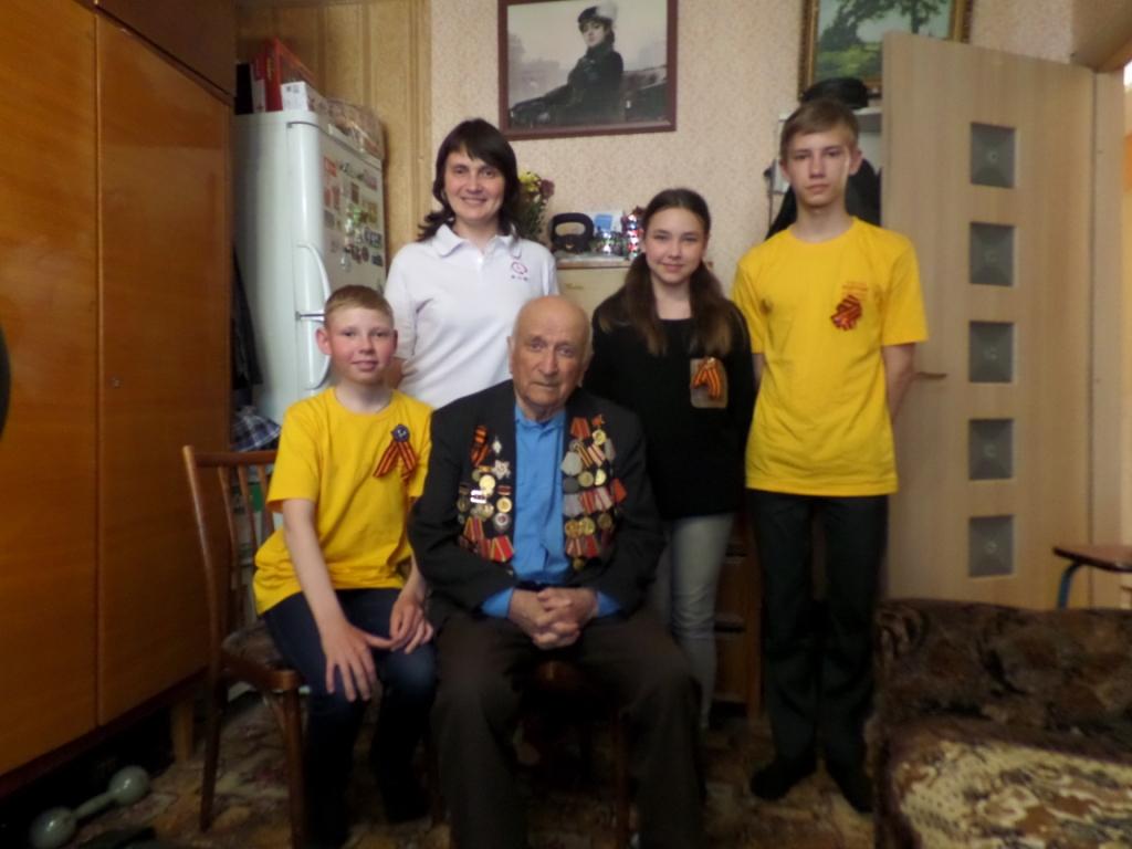Поздравление с Днём Побед ветерана Великой Отечественной Войны, Зяблицева Михаила Яковлевича