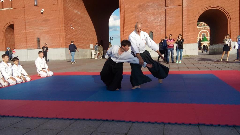 Фотоотчёт о Спортивном Мероприятии Демонстрационные тренировки  26 и 27 августа у Спасской башни