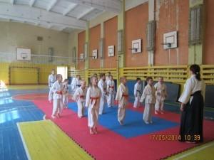 Открытый урок по айкидо школа №20 г. Йошкар-Ола