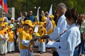 10 мая 2014г. День спортивного подвига посвящённого Дню Победы