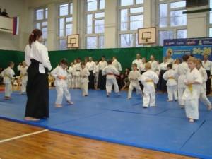 31 октября 2009. Фестиваль боевых искусств в 18 школе