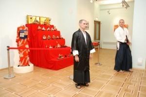 5 сентября 2008. Показательные выступления на открытии выставки