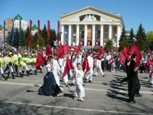 9 мая 2013г. Участие в параде Победы