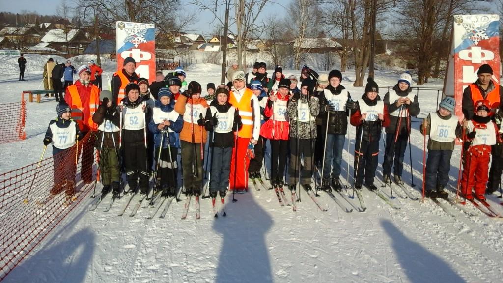 ГТО зовёт на лыжню 2016г. Список победителей и призёров по группам