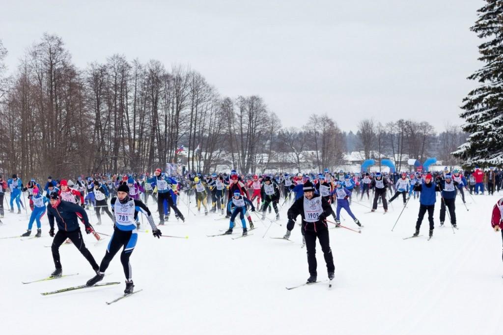 ГТО зовет на лыжню - 2016г