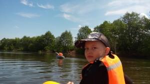 Отчёт о тренировочном выходе на воду 11.06.2017